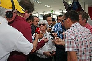 Formula 1 Breaking news Ecclestone senses 'vultures circling'