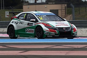 WTCC Testing report Honda cars set testing pace at the Hungaroring