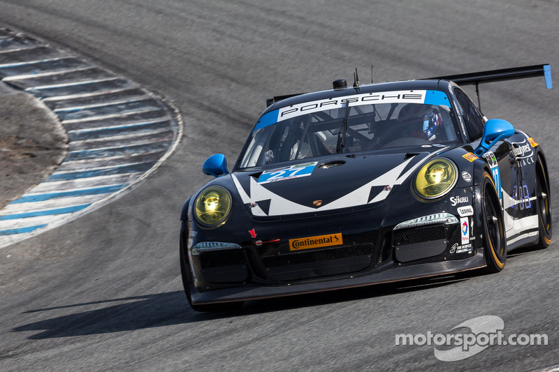 Dempsey Racing endures to the finish in Monterey GP