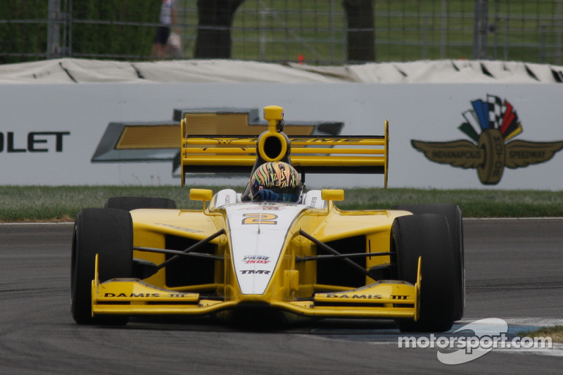 Zack Meyer battles to fourth place in Indy Lights Grand Prix of Indianapolis Sprint Race
