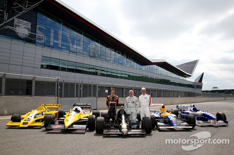 Renault pays homage to turbocharged heritage at Silverstone