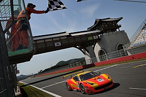 GT Race report GT Asia rookies take back-to-back wins in Korea