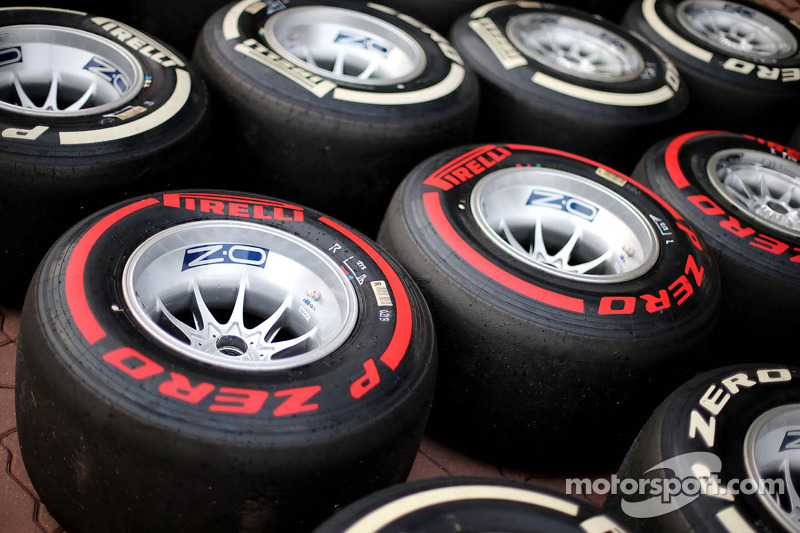Pirelli: P Zero Red supersoft makes its 2014 debut at Monaco