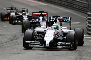 Formula 1 Race report Massa pushes hard to collect points for Williams in Monaco