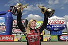 Courtney Force reflects on her 100th win for a female racer