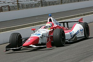 IndyCar Race report Justin Wilson climbs from 19th to fourth at Detroit