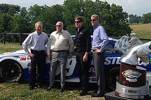NASCAR Cup Special feature A day with The Chairman