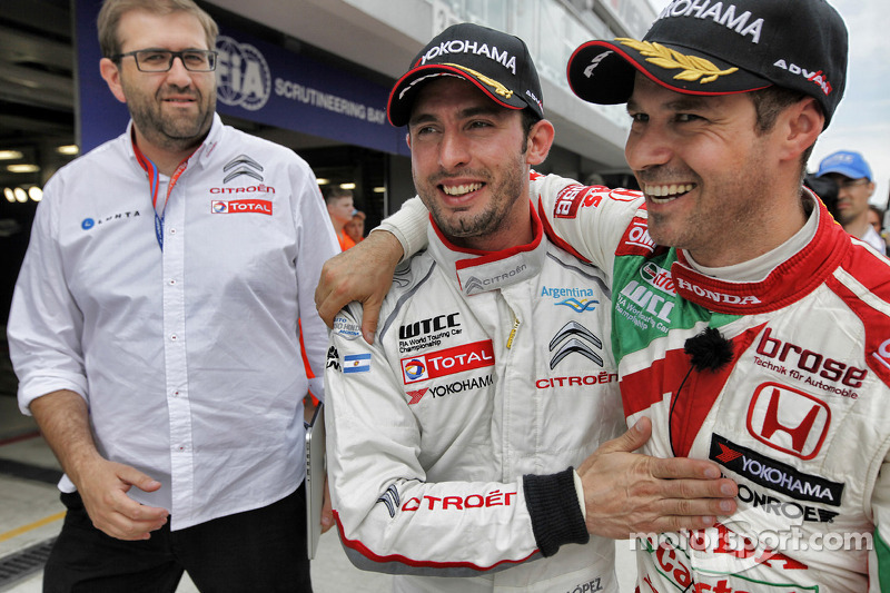 López beats Tarquini to Moscow pole