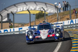 Le Mans Practice report Toyota's Anthony Davidson tops free practice at Le Mans
