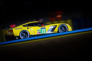 Le Mans Race report Corvette Racing: Solid second for brand-new C7.R
