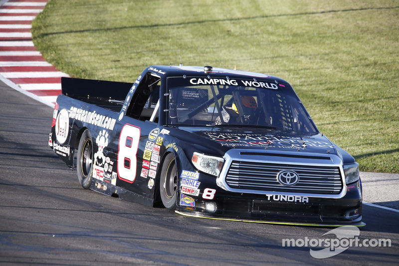 Continuing education: Nemechek moves to the head of the class