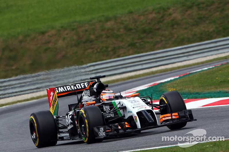 Sahara Force India enjoyed a productive day of practice ahead of Sunday's Austrian GP