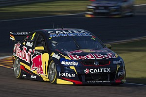 Supercars Qualifying report Whincup claims back-to-back poles in Darwin