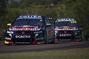 Supercars Qualifying report Lowndes heads an all Red Bull front row for the third race in Darwin