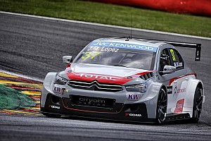 WTCC Race report López extends points lead with Race Two victory in Belgium