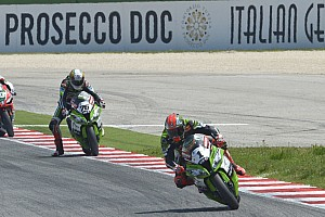 World Superbike Race report Repeat performance for Sykes in second encounter at Misano
