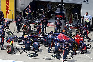 Formula 1 Race report Both Toro Rosso drivers did not finish the Austrian GP