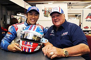 IndyCar Breaking news Sato helmet raises more than $30,000