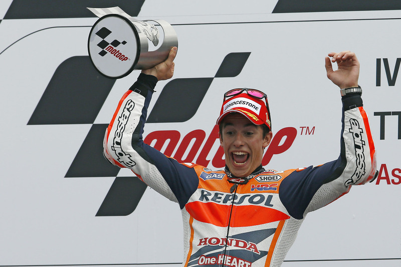 Maximum points for record breaking Marquez in Assen