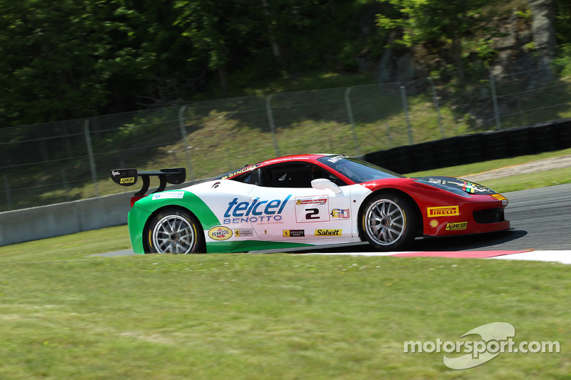 Perez and Ruud, the winners of Race 2 in Mont Tremblant