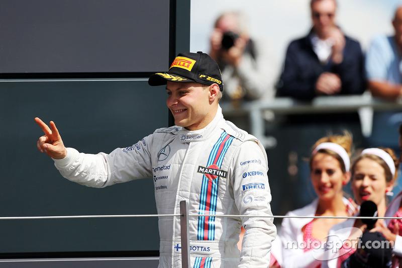 A second consecutive podium for Williams' Bottas on British GP