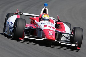IndyCar Race report Flat out day at Pocono nets 14th for Justin Wilson