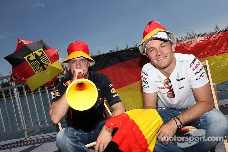 Germany 'not Rosberg's home race' - Hamilton