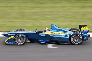 Formula E Testing report Sebastien Buemi tops Day Three of testing at Donington Park