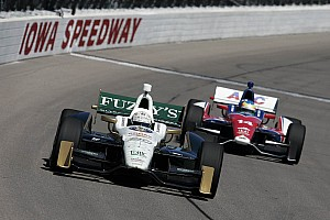 IndyCar Interview Kanaan and Carpenter are hoping for some more success at Iowa this weekend