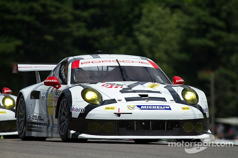 Porsche North America Works Team earns top-five in Canada