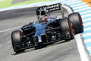 Formula 1 Practice report McLaren test some effective changes ahead of tomorrow's qualifying for the German GP