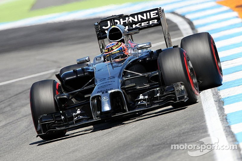 McLaren test some effective changes ahead of tomorrow's qualifying for the German GP