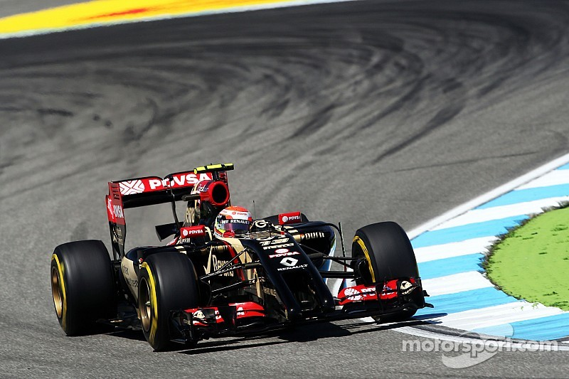 Difficult qualifying for Lotus at the Hockenheimring