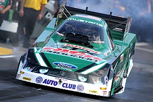 NHRA Qualifying report John Force claims top qualifying spot at Mile-High Nationals