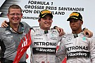 Mercedes' Rosberg took a dominating home victory at the German GP