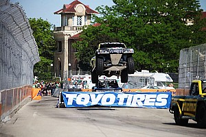 Offroad Rumor Creed edges out Gordon in Stadium Super trucks; Paul Tracy fourth