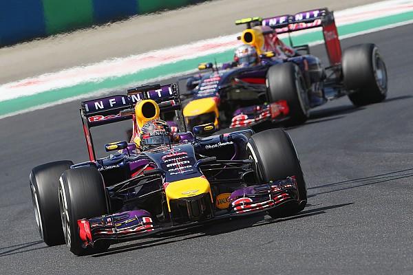 Vettel improves and Ricciardo struggles on practice day at Hungaroring