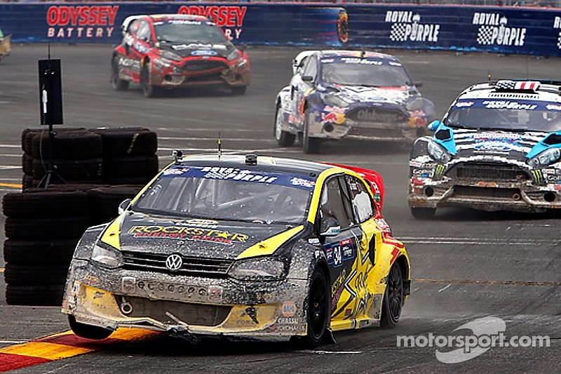 Tough weekend for Andretti Rallycross team
