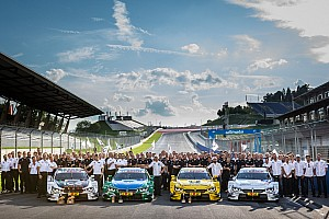 DTM Interview BMW celebrates best result since 1992