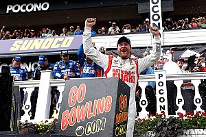 NASCAR Cup Race report Dale Earnhardt Jr. completes the sweep at Pocono