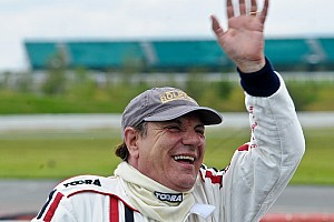 Vintage Race report AC/DC star Brian Johnson rocks Croft Nostalgia Weekend