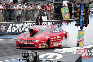 NHRA Breaking news Enders-Stevens will have company in the Pro Stock field at Indy: Her husband