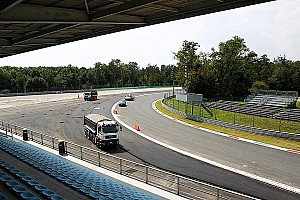 Formula 1 Breaking news Outrage as Monza's Parabolica run-off asphalted
