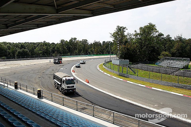 Outrage as Monza's Parabolica run-off asphalted