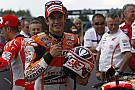 Marquez pushed all the way for pole position in Brno qualifying