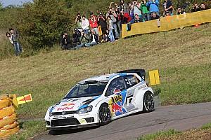 WRC Leg report Latvala leads Rally Germany as Ogier crashes
