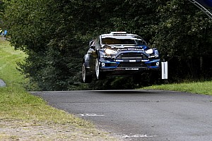 WRC Race report Evans powers to career best on Rallye Deutschland