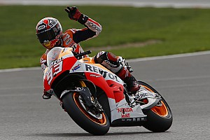 MotoGP Race report Bridgestone: Marquez emerges victorious in spectacular Spanish duel at Silverstone