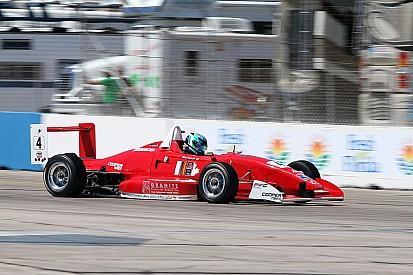 Burkett wins finale race of Atlantic Championship