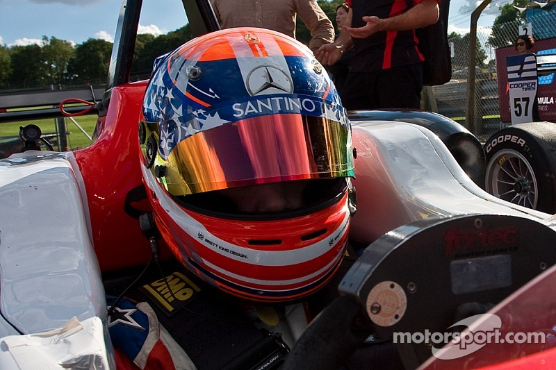 Santino Ferrucci switches to Fortec Motorsports